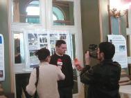 罗马尼亚电视台和广播电台采访法轮功学员
