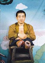 王新春被迫害致残,双脚脱落