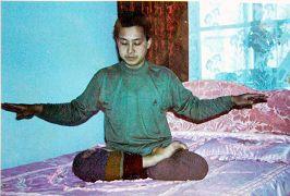 杨宝春未被迫害之前的炼功照片
