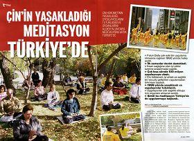 土耳其著名杂志介绍法轮功真相(图)