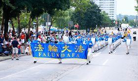 多伦多天国乐团参加哈密尔顿市加勒比节大游行