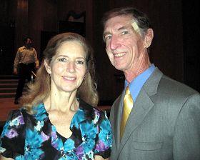 四十年独立电视制片人艾斯李本先生和太太