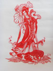 【征稿作品】剪纸:仙女——明白真相的长春人士
