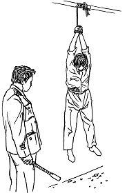中共酷刑:吊挂
