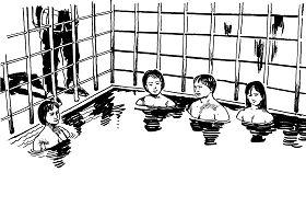 酷刑示意:水牢