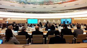 联合国人权理事会第二十一次会议在联合国日内瓦万国宫召开