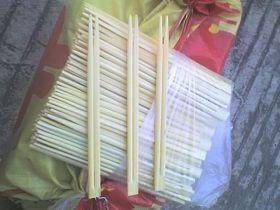 """恶劣条件下包装的""""卫生""""筷"""