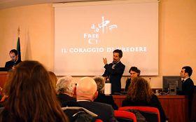 ''意大利国会内放映纪录片《自由中国》''