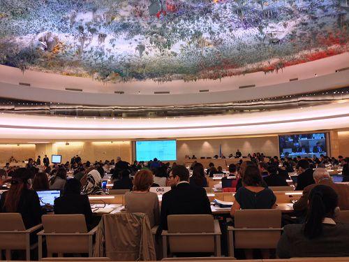 图1:第二十四届联合国人权理事会大会于九月十九日至二十七日在日内瓦召开。