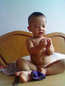 董治宇老师的儿子才一岁