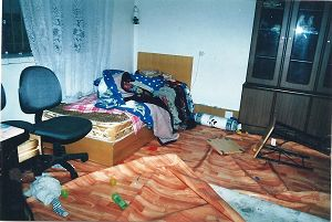 二零零三年七月被调兵山国保大队抄家时的照片