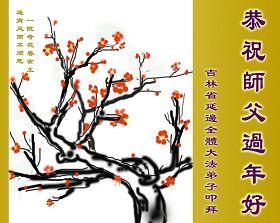 来自五洲四海向法轮功师父李洪志先生的问候和感恩