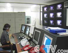 北京女子监狱监区监控室实图