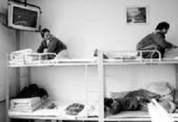 北京女子监狱监区的图书室实图