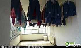 北京女子监狱宽管监区筒道实图