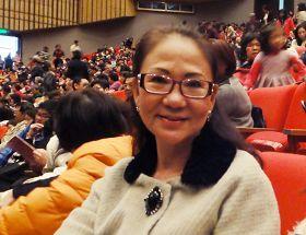 韩侨舞蹈退休教师周鸿兰女士观赏神韵后表示,内心充满着无比的感动及感恩之情。