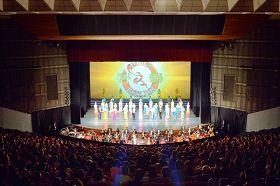 二零一三年二月二十日起,神韵巡回艺术团在台北国父纪念馆六天九场的盛大演出场场爆满