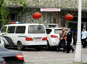 鹤岗市向阳区法院对法轮功学员程守祥非法开庭