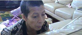 '图1:二零零七年的曹安妮患有严重的忧郁症,时常充满恐惧和失败,我骨瘦如柴。'