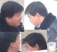 图1:到潍坊市洗脑班迫害法轮功学员的恶警(这张图上是同一个人)。