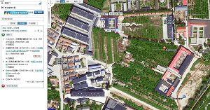 附北京西城区洗脑班俯视图
