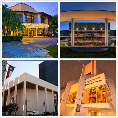 图2:2014年12月28日,美国神韵艺术团四个团分别在美国佛州劳德代尔堡布劳沃德表演艺术中心(Broward