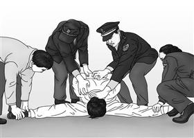 中共酷刑示意图:劈腿