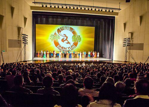 神韵艺术团第八度访台,成为台湾艺文界年度最大盛事。