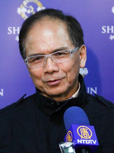 前行政院长游锡堃推崇神韵是国际顶尖的艺术表现