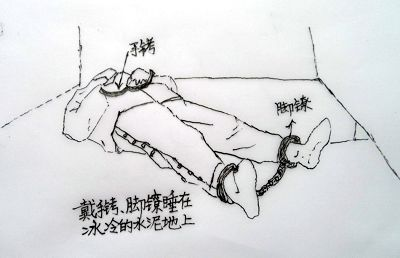 水刑、秒饭、禁止排泄、死亡护理---中共酷刑害人手段举例