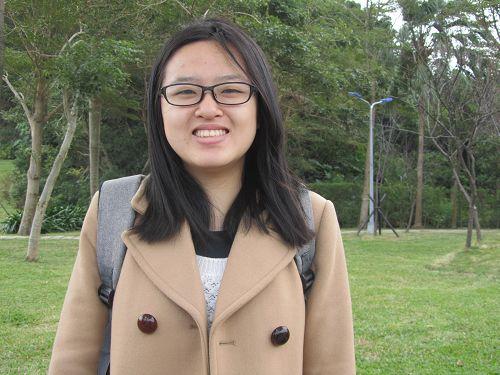 图2. 藤野伟从日本到台湾文化大学就读,生平第一次向师父拜年,感到很开心。