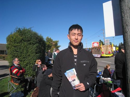 '圖7:華人大學生楊子豪同學'