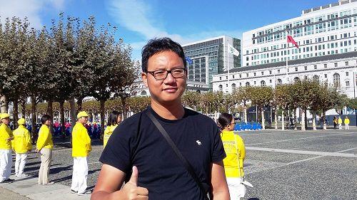 圖3:胡金煒先生希望華人能開明思維,辨明真偽