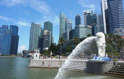 新加坡鱼尾狮景点