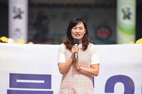 图4:高雄市议员陈丽娜
