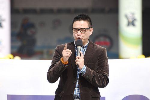 图5:台北市议员洪健益