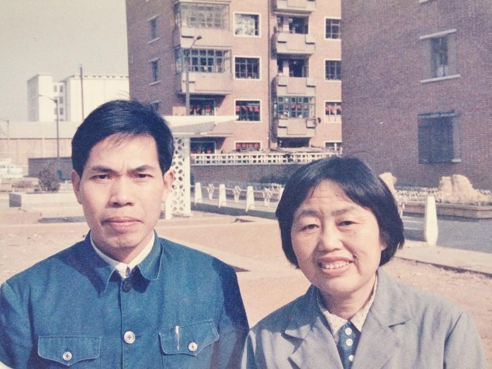 熊輝豐和劉元傑夫婦(明慧網)