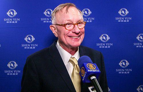 前加州共和党主席Shawn Steel呼吁美国人和海外华人都来支持神韵。