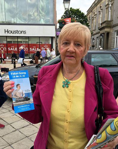 在恩尼斯基伦生活多年的吉布森女士谴责中共活摘器官