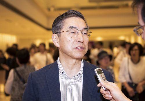 图6:ABE创研代表,东洋大学大学院客员教授阿部仁志(Hitoshi Abe)