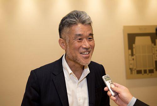图7:日本国际协力机构开发部部长、学术博士户田隆夫(Takao Toda)