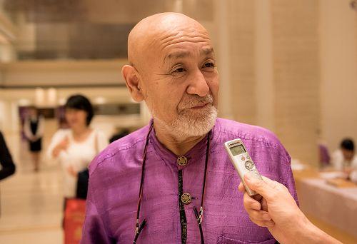 图10: 七十多岁的日本著名陶艺家坂田甚内(Jinnai Sakata)