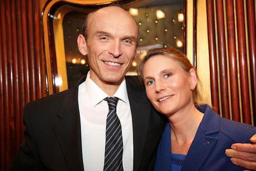 '图:卡迪娅(Katja)和丈夫汉斯(Heinz)'