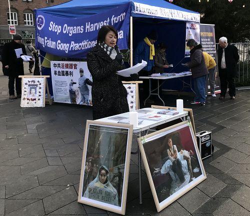 法轮功学员陈女士讲述了她被非法判刑七年的遭遇。