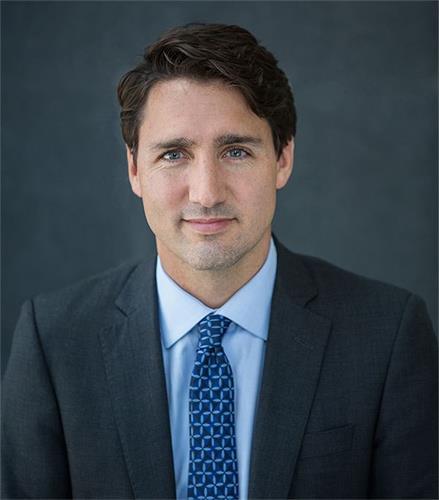 '图3~4:加拿大总理贾斯廷·特鲁多(Justin