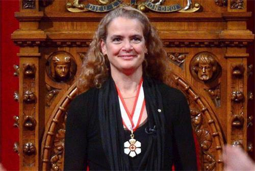 '图1~2:加拿大总督朱莉·帕耶特(JuliePayette)为神韵二零一八巡演发来贺信'