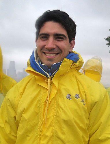 图5:目前在纽约就学的约瑟夫·吉格利蒂(Joseph gigliotti)
