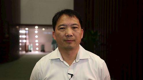 '图20:民主党主席、立法会议员胡志伟。'