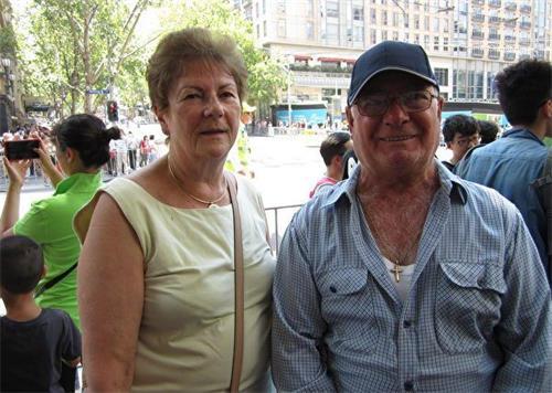 '图4:澳洲居民EricLanza和MarcelleLanza夫妇。'