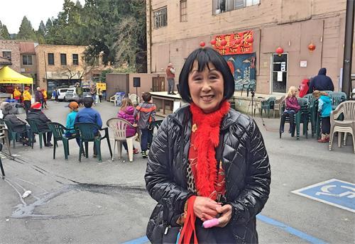 '图8:内华达城庆祝中国新年活动主办方CATS的执行董事珍妮